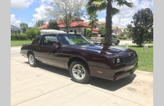 1987 Chevrolet Monte Carlo SS for sale 100894704